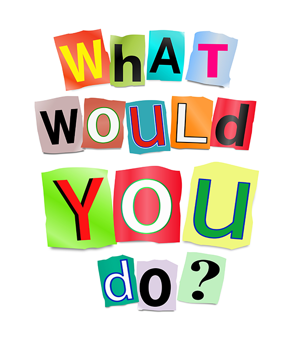 What Would You Do? Management Graphic